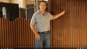 Image For Styles Of Corrugated Steel Fencing